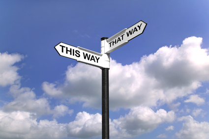 journaling ideas - road sign