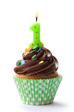 celebration cupcake