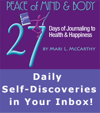 27 days journaling email course
