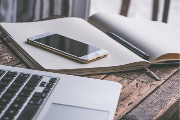 Journaling with your smartphone smart device copy.jpg