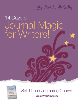 14 Days of Journal Magic for Writers - Self Paced Journaling Course - eBook Cover.png