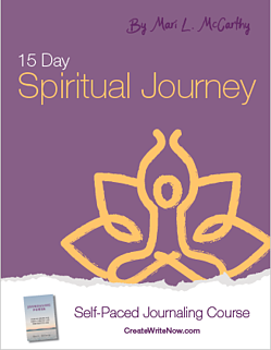 15 Day Spiritual Journey - Self Paced Journaling Course - eBook Cover
