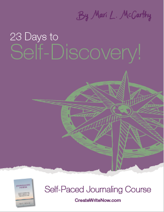 23 Days to Self-Discovery - Self Paced Journaling Course - eBook Cover