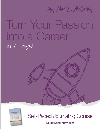 Turn Your Passion into a Career in 7 Days - Self Paced Journaling Course - EBook Cover.png