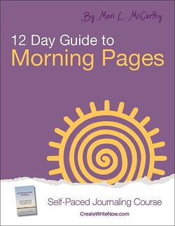 12 Day Guide to Morning Pages - Self Paced Journaling Course