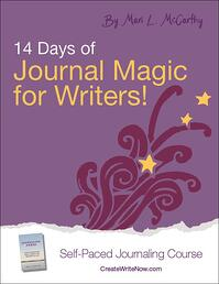 14 Days of Journal Magic for Writers - Self Paced Journaling Course