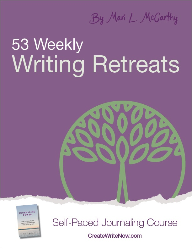 53 Weekly Writing Retreats - Self Paced Journaling Course