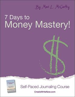 7 Days to Money Mastery - Self Paced Journaling Course