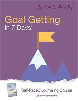 Goal Getting in 7 Days - Self Paced Journaling Course
