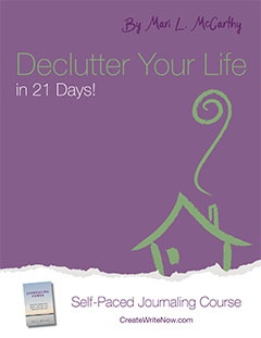 Declutter Your Life in 21 Days - Self-Paced Journaling Course - eBook Cover