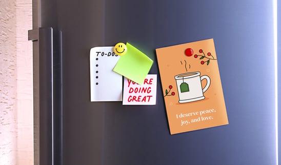 printable-affirmation-card-pinned-to-fridge-door